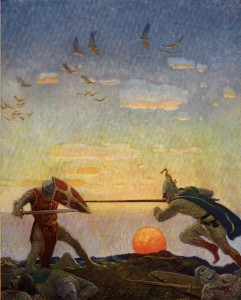 Boys_King_Arthur_-_N._C._Wyeth_-_p306